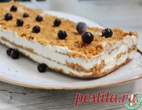 Торт медовик без выпечки – кулинарный рецепт