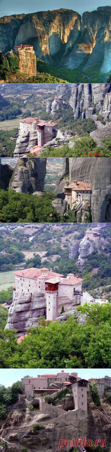 Греческие монастыри - метеоры.