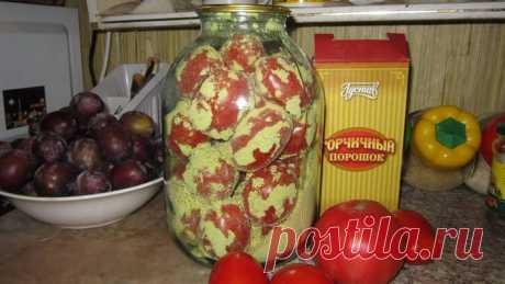 Хранение свежих помидор.