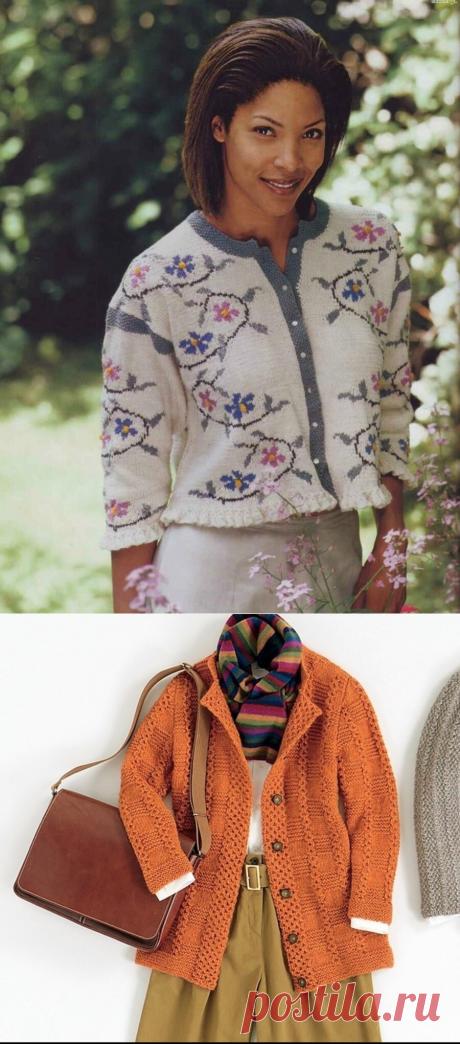 Интересные жакеты и кардиганы, связанные спицами. | Asha. Вязание и дизайн.🌶 | Яндекс Дзен