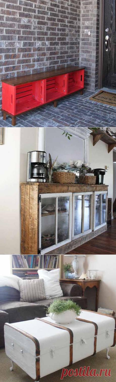 Мебель своими руками: 25 полезных проектов из подручных материалов