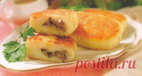 Зразы с грибами — Sloosh – кулинарные рецепты