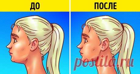 5 быстрых лифтинг-упражнений для лица, которые заменят вам поход к косметологу.