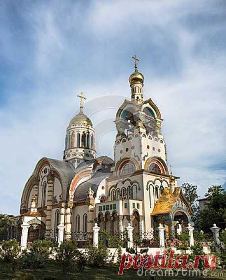 Church Of The Holy Prince Vladimir, Sochi, Russia\u000d\u000afrom Serleb10   Pinterest • World catalog of ideas
