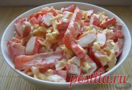 Вкусный салат за 10 минут