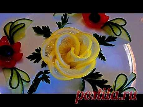 7 LAYFHAKOV AS it is BEAUTIFUL to CUT the LEMON! Quickly and easily! As it is beautiful to issue a table