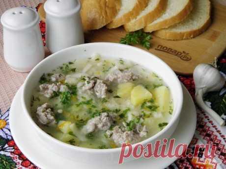 Суп с фрикадельками (ленивый) - пошаговый рецепт с фото на Повар.ру