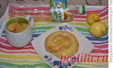 Вертута с яблоком и тыквой - пошаговый рецепт приготовления с фото