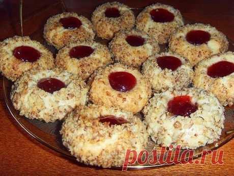 Как приготовить песочное печенье с вареньем. - рецепт, ингредиенты и фотографии