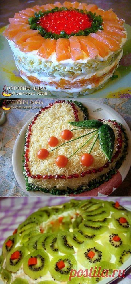 9 салатов к Новому Году