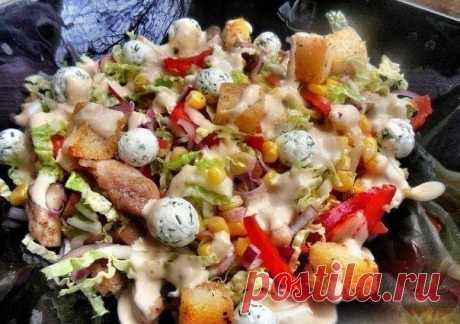 Как приготовить салат ревнивец. - рецепт, ингредиенты и фотографии