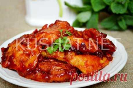 Куриное филе в кисло-сладком соусе по-китайски - Кушать нет