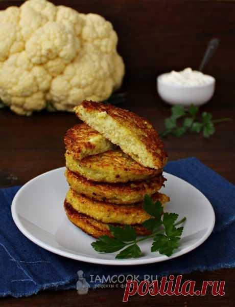 Жареные оладьи из свежей цветной капусты — рецепт с фото пошагово