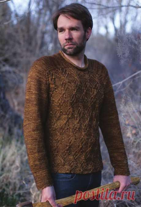 Мужской пуловер Honest Woodsman - Вяжи.ру