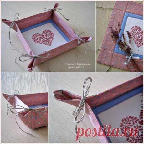Текстильная конфетница с вышивкой. - Ярмарка Мастеров - ручная работа, handmade