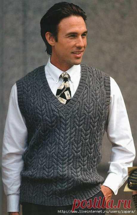 Men's vest braids