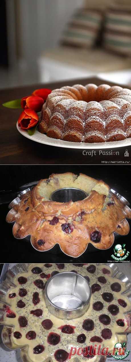 Три рецепта маковых кексов. Лимонный, миндальный и яблочный с вишней - Простые рецепты Овкусе.ру