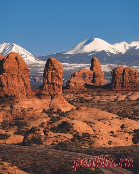 Национальный парк Арчес, США