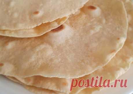 Тортилья (мексиканская лепёшка) - пошаговый рецепт с фото. Автор рецепта Марина Ускова 🏃♂️ . - Cookpad