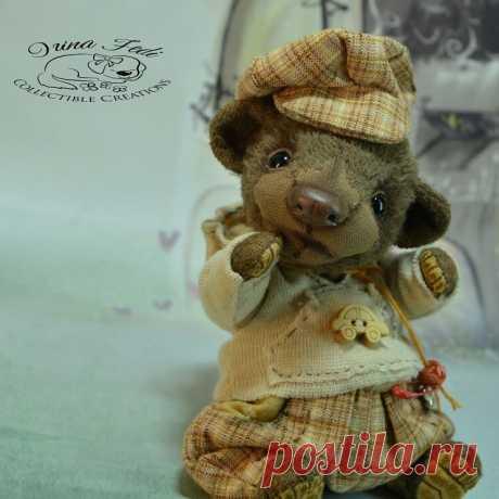 Мишутка МикоИщет новый дом!Малыш ростиком 14 см (11 см сидя).Сшит из вискозы.Наполнен опилочками и любовью.Teddy bear Miko. Looking for a new home. At a height of 14 cm (11 cm sitting). Sewed from viscose. Filled with sawdust and love. Clothes made of cotton. It is removed.#тедди #мишка #мимимишки #мишкатедди #авторскиеигрушки #люблюсвоюработу❤; #мишутка#irina_fedi #teddybear #teddybears #artistteddy #artistteddybears#cutebear #bear #ooak #teddy#teddylove#ooak