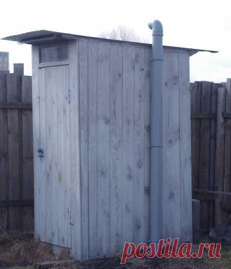 Как очистить уличнный туалет без откачки, вони и прочих неприятностей. | Мастер на все руки | Яндекс Дзен