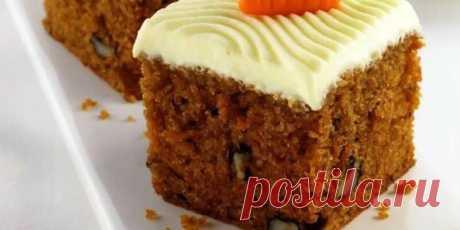 Морковный пирог — бесподобное лакомство для диеты и не только! Морковный пирог любят во всем мире за нежный, сладковатый вкус. Этот овощной десерт приобрел всемирную популярность со времен Второй Мировой Войны, как простое, полезное и дешевое лакомство. Морковь используется в готовке еще со Средневековья, но всеобщую любовь приобрела только, как блюдо английской кухни.