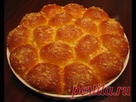 Дрожжевой пирог с тыквой