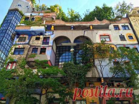 Как выглядят квартиры в домах архитектора Хундертвассера. - joeck_12 — LiveJournal