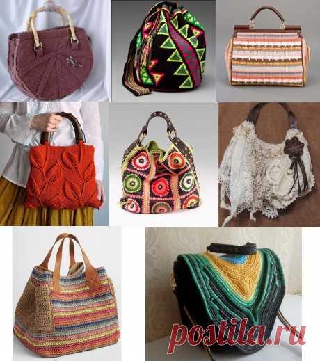 Вязаная сумка - самый модный аксессуар, можно связать своими руками!, Журнал