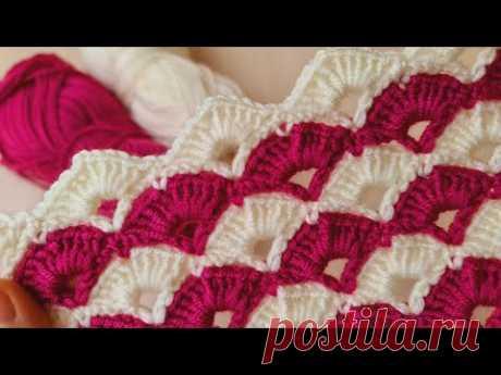 505- Gören bayıldı hemen örmek istedi/ tığ işi kolay örgü modeli yapımı #crochetblanket
