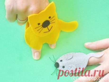 Развивающие игрушки от Shill O'POP » Пальчиковая игра Кошки-мышки