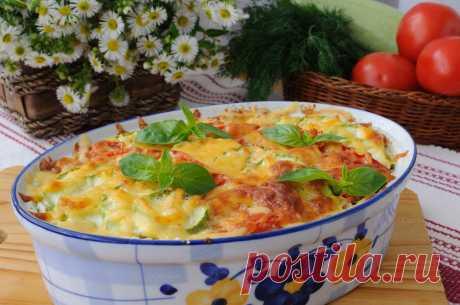 Лучшие рецепты запеканки с картофелем и кабачками: в духовке
