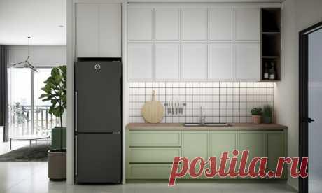 Оформление квартиры в приглушенных зеленых тонах — Lodgers - Дизайн интерьера
