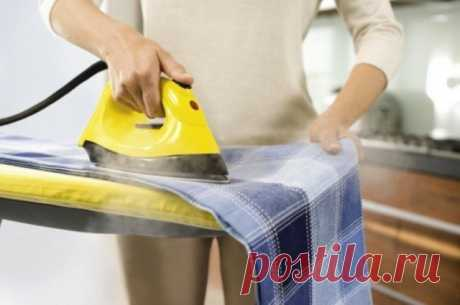 Как убрать блеск от утюга с одежды — Полезные советы