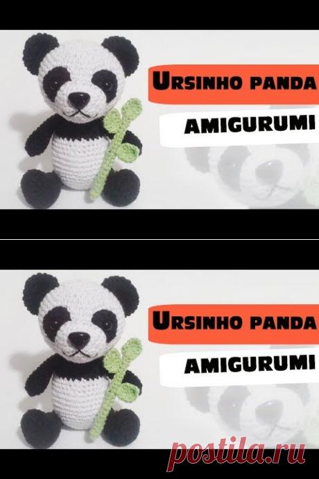 (1) ursinho panda amigurumi parte1 - YouTube