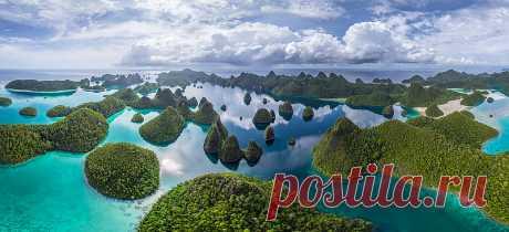 Острова Ваяг - последний рай на земле.