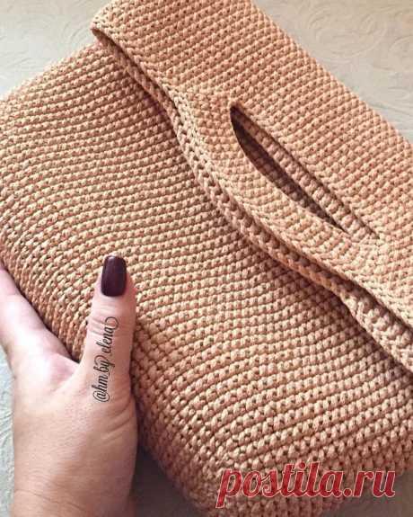 """Вяжем сумку """"Шоппер"""" (Вязание крючком) – Журнал Вдохновение Рукодельницы"""