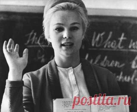Учительница английского языка. СССР.