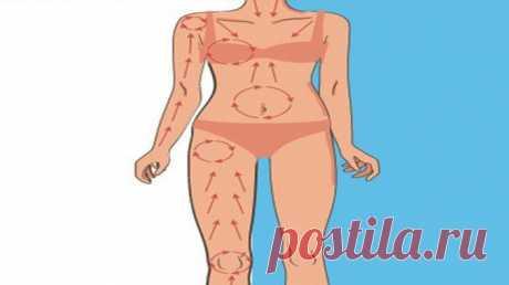 Вот как активизировать лимфоток и кровообращение, избавиться от токсинов и подарить коже упругость всего за 5 минут! — Полезные советы