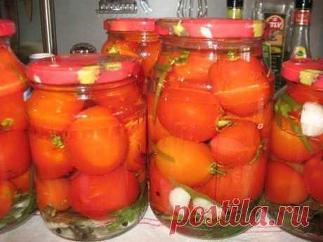 Маринованные помидоры сладко-острые кулинарный рецепт с фото от Paragrams