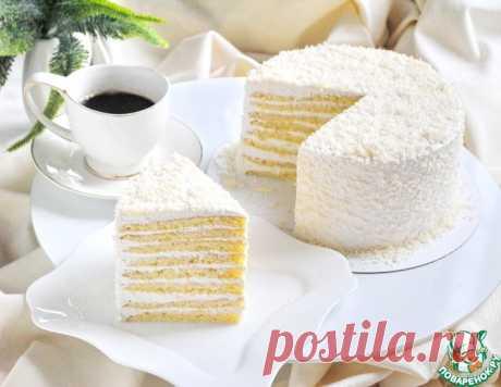 """Торт """"Молочная девочка"""" – кулинарный рецепт"""