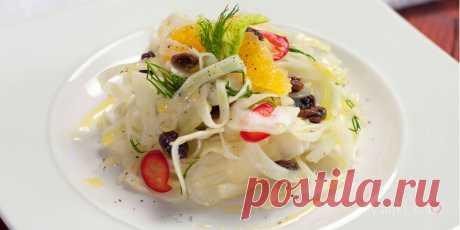Сицилийский салат. Сочетание типичных ингредиентов сицилийского острова принесет аромат Италии на стол