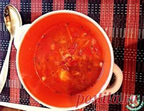 Томатный суп с фасолью в мультиварке – кулинарный рецепт