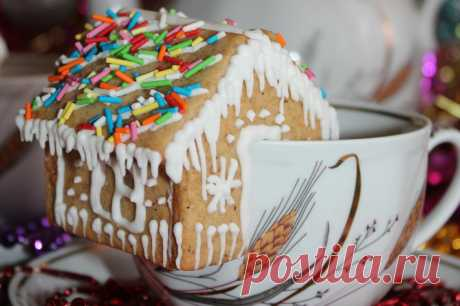 Пряничные домики - пошаговый рецепт с фото - как приготовить - ингредиенты, состав, время приготовления - Дети Mail.Ru