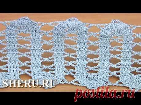Crochet Bruges Trim Tutorial 18 the Binding in equipment of bryuggsky lace