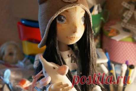 МК: кукла из ткани на каркасе | all Dolls