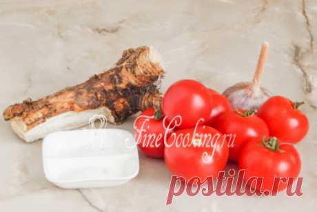 Хреновина с помидорами на зиму - рецепт с фото