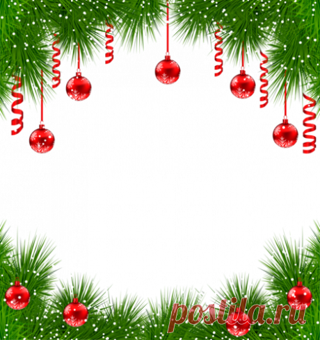 Зимние рамки - Новогодний и зимний клипарт - Кира-скрап - клипарт и рамки на прозрачном фоне
