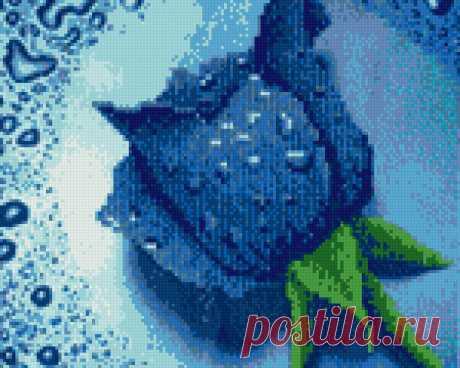 Предпросмотр схемы вышивки «алмазная роза» - Вышивка крестом