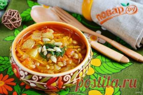 Карри-суп с чечевицей и тыквой - пошаговый рецепт с фото на Повар.ру